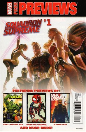 All-New, All-Different Marvel December/January Previews 1-A