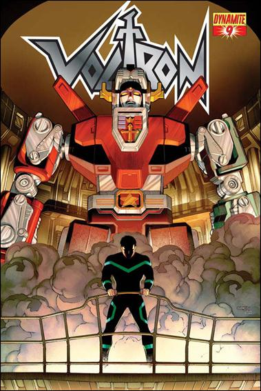 Voltron (2011) 9-A by Dynamite Entertainment