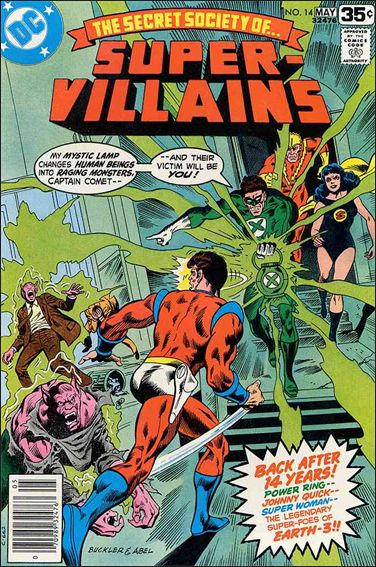 Secret Society of Super-Villains 14-A by DC