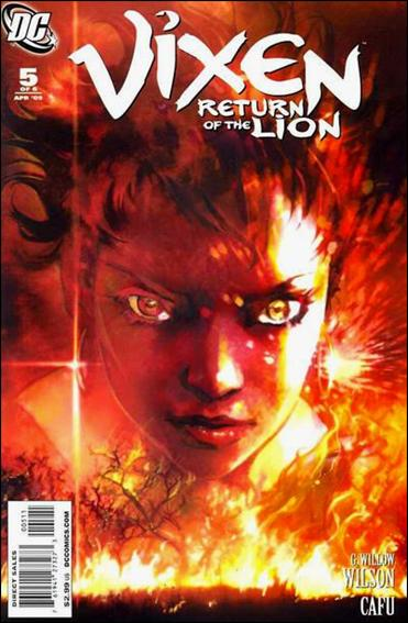 Vixen: Return of the Lion 5-A by DC