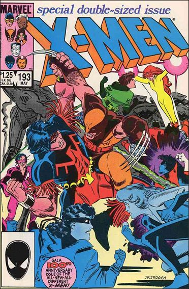 Uncanny X-Men (1981) 193-A by Marvel