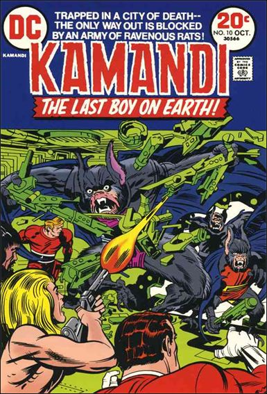 Kamandi, the Last Boy on Earth 10-A by DC