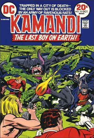 Kamandi, the Last Boy on Earth 10-A