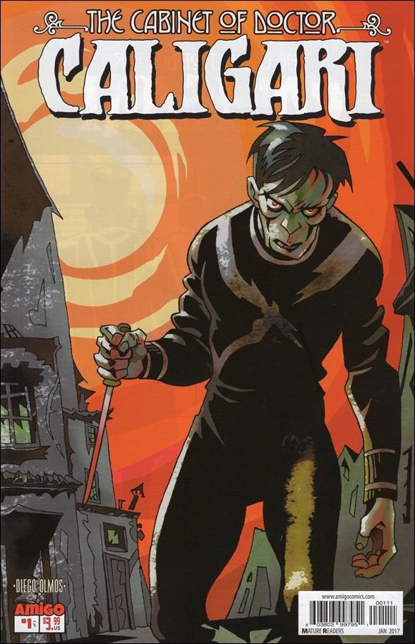 Cabinet Of Doctor Caligari 1 A Jan 2017 Comic Book By
