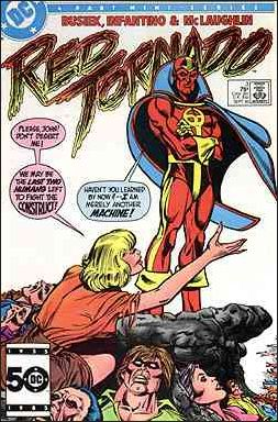 Red Tornado (1985) 3-A by DC