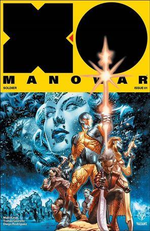 X-O Manowar (2017) 1-A