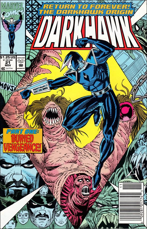 Darkhawk 21-A by Marvel
