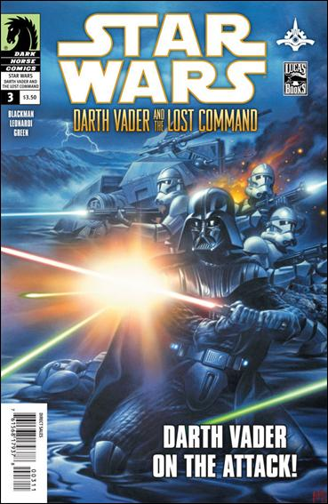 Star Wars: Darth Vader and the Lost Command 3-A by Dark Horse