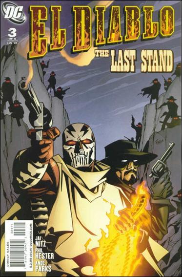 El Diablo (2008) 3-A by DC