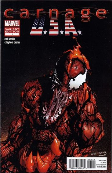 Carnage, U.S.A. 1-B by Marvel