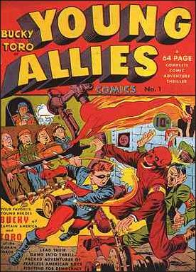 Young Allies Comics 1-A by Marvel