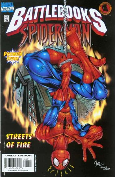 Spider-Man Battlebook: Streets of Fire 1-A by Marvel