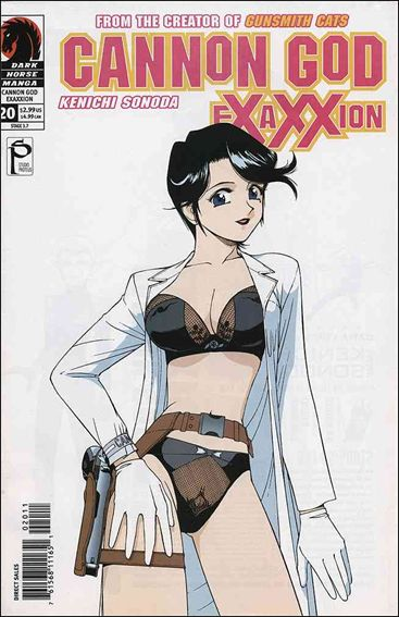 Cannon God Exaxxion 20-A by Dark Horse