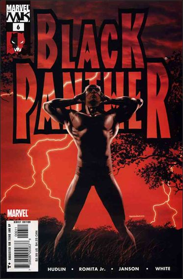 Black Panther (2005) 6-A by Marvel