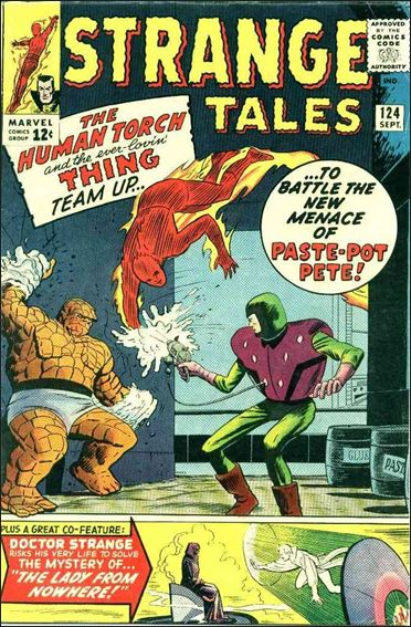 Strange Tales (1951) 124-A by Marvel