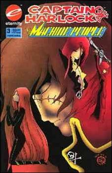 Captain Harlock: The Machine People 3-A by Eternity