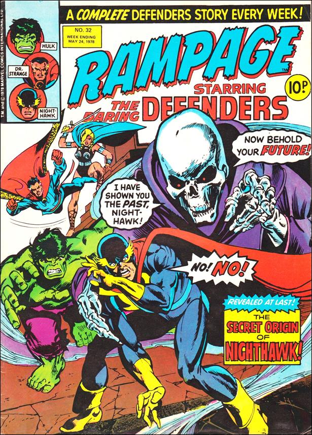 Rampage Weekly (UK) 32-A by Marvel UK
