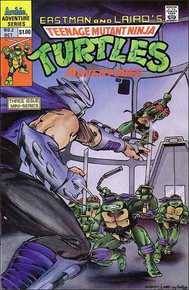 Teenage Mutant Ninja Turtles Adventures (1988) 2-A by Archie