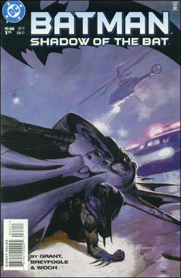 Batman: Shadow of the Bat 66-A by DC