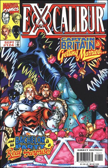 Excalibur (1988) 124-A by Marvel