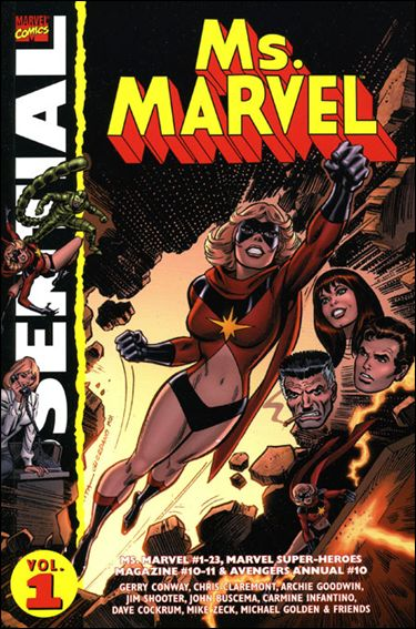 Essential Ms. Marvel 1-A by Marvel