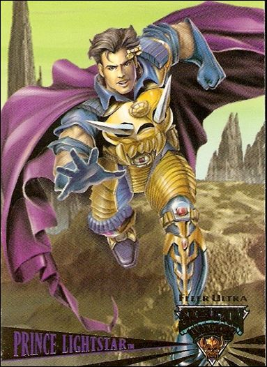 Fleer Ultra Skeleton Warriors (Promo) Prince Ligh-A by Fleer