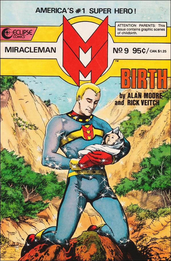 Miracleman (1985) 9-A by Eclipse
