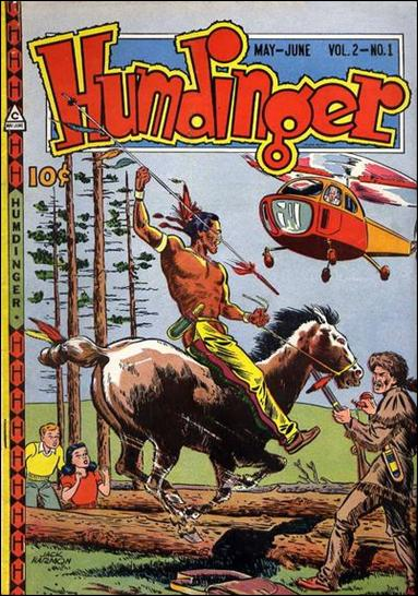 Humdinger (1947) 1-A by Novelty Press