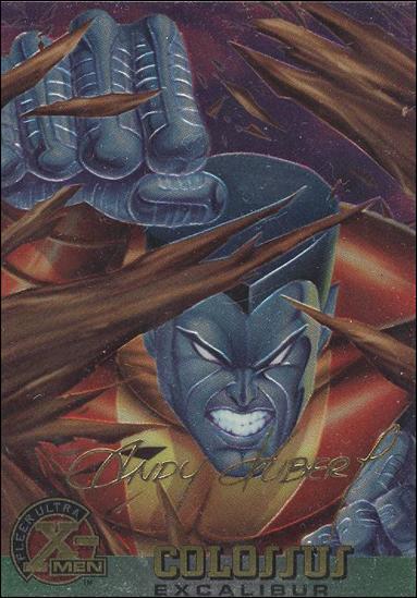 1995 Fleer Ultra X-Men All Chromium (Gold Signature Parallel Base Set) 25-A by Fleer