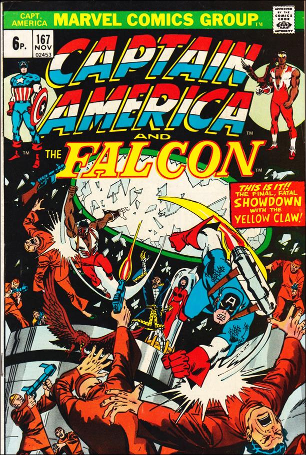 Captain America (1968) 167-B by Marvel