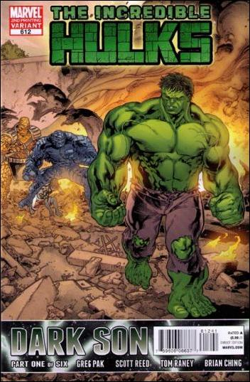 Incredible Hulks 612-C by Marvel