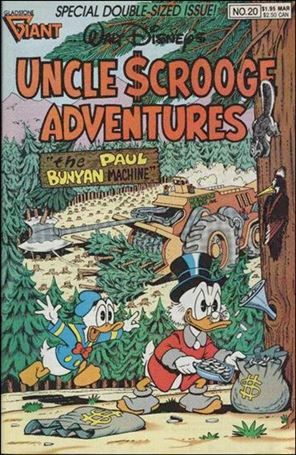 Walt Disney's Uncle Scrooge Adventures 20-A