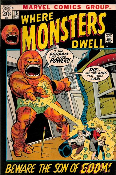 Where Monsters Dwell 16-A by Marvel
