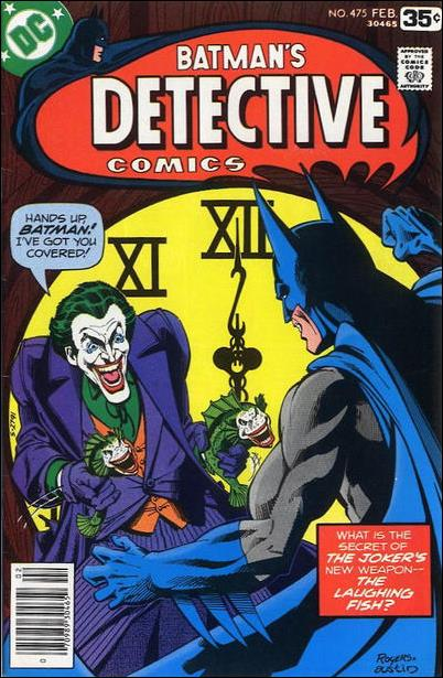 Detective Comics (1937) 475-A by DC