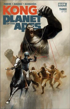 Kong on the Planet of the Apes 3-A