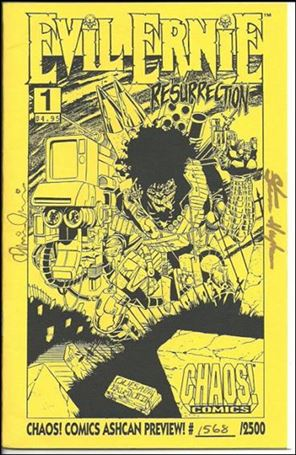 Evil Ernie: The Resurrection Ashcan-A