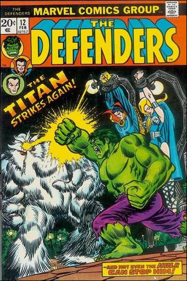 Defenders (1972) 12-A by Marvel