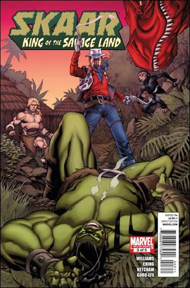 Skaar: King of the Savage Land 3-A by Marvel