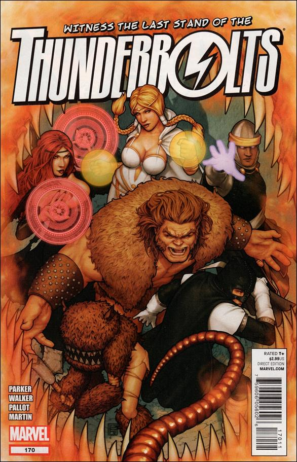 Thunderbolts (1997) 170-A by Marvel