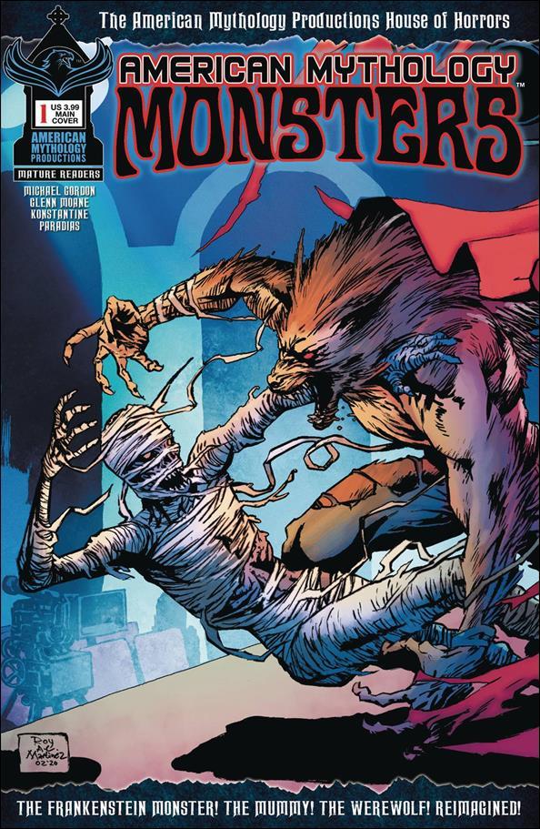 American Mythology Monsters 1-A by American Mythology