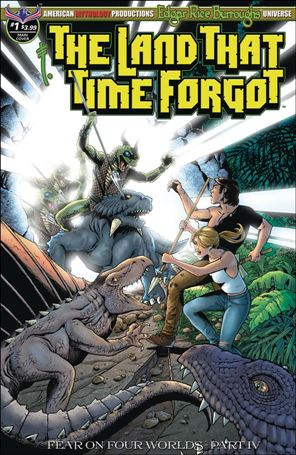 Edgar Rice Burroughs' The Land That Time Forgot: Fear on Four Worlds 1-A