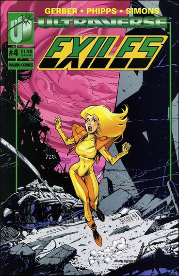 Exiles (1993) 4-A by Malibu