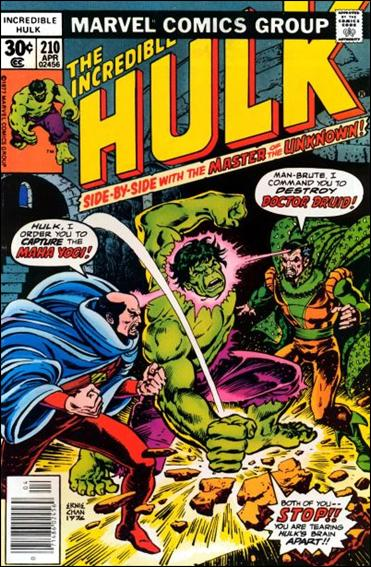 Incredible Hulk (1968) 210-A by Marvel