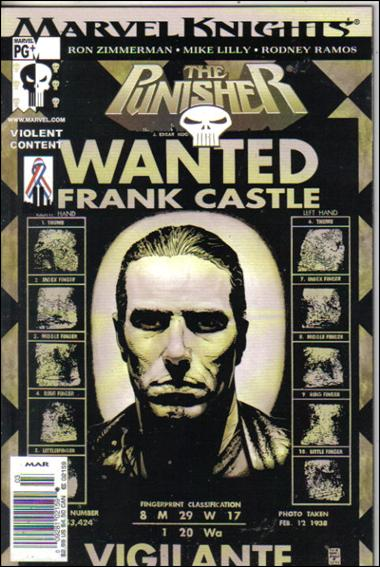 Punisher (2001) 8-B by Marvel