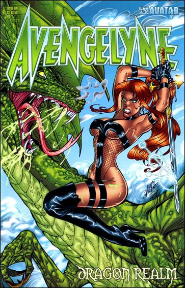 Avengelyne: Dragon Realm 1-B by Avatar Press