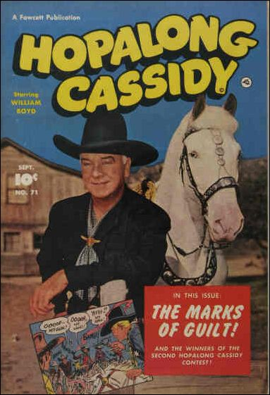 Hopalong Cassidy (1943) 71-A by Fawcett