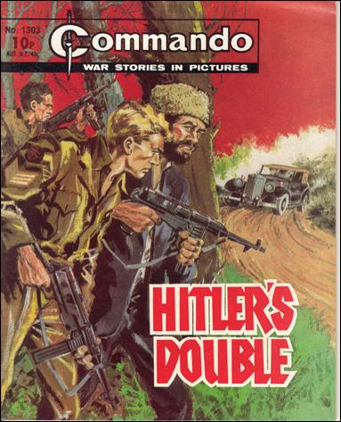 Commando (UK) 1303-A by D. C. Thomson