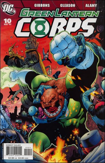 Green Lantern Corps (2006) 10-A by DC