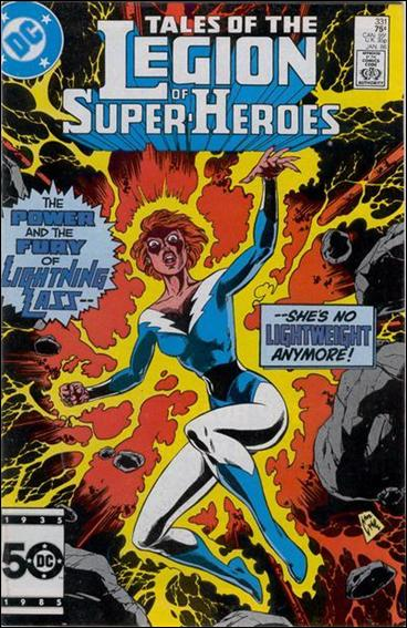 Tales of the Legion of Super-Heroes 331-A by DC