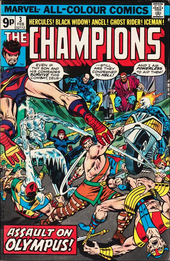 Champions (1975) 3-B by Marvel